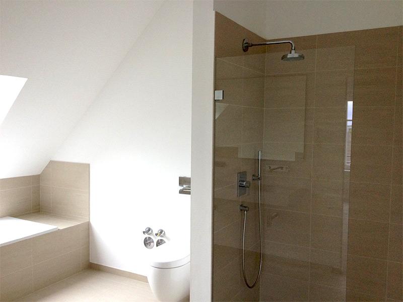 Dachausbau - Badezimmer